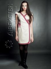 Вышитое модное платье ЖП 11-16-LN