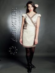 Вышитое модное платье ЖП 11-62-LN