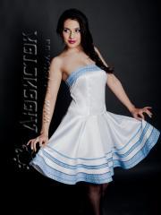 Вышитое модное платье ЖП 37-36