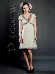 Вышитое модное платье ЖП 49-62