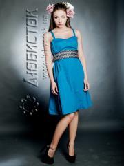 Вышитое модное платье ЖП 50-05