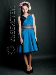Вышитое модное платье ЖП 53-05