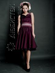 Вышитое модное платье ЖП 53-47