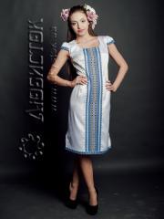 Вышитое модное платье ЖП 54-23