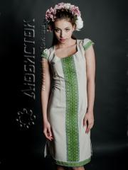 Вышитое модное платье ЖП 54-31