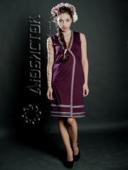Вышитое модное платье ЖП 55-21