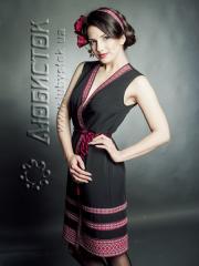 Вышитое модное платье ЖП 55-64