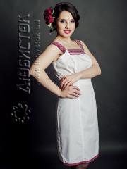 Вышитое модное платье ЖП 57-49