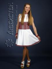 Вышитое модное платье ЖП 58-16