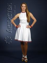Вышитое модное платье ЖП 59-16