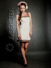Вышитое модное платье ЖП 60-62