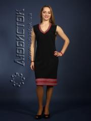Вышитое модное платье ЖП 61-27