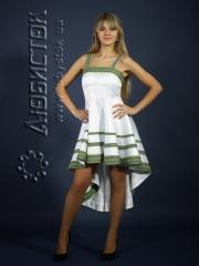 Вышитое модное платье ЖП 62-46