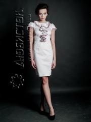Вышитое модное платье ЖП 63-47