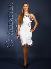 Вышитое модное платье ЖП 65-49w