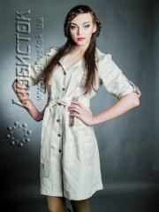 Вышитое модное платье ЖП 67-62