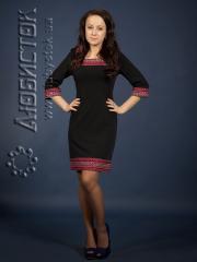 Вышитое модное платье ЖП 68-73