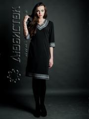 Вышитое модное платье ЖП 69-05
