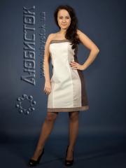 Вышитое модное платье ЖП 70-14