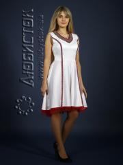 Вышитое модное платье ЖП 72-63
