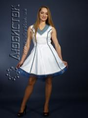 Вышитое модное платье ЖП 73-68