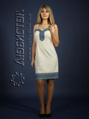 Вышитое модное платье ЖП 74-30