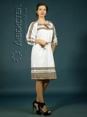 Вышитое модное платье ЖП 75-48