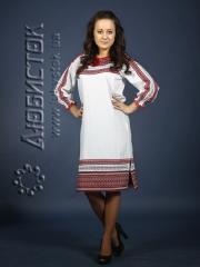 Вышитое модное платье ЖП 75-49