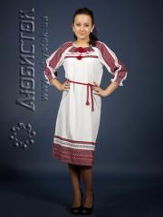 Вышитое модное платье ЖП 75-57