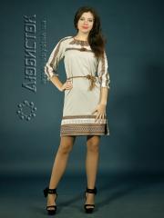 Вышитое модное платье ЖП 75-76