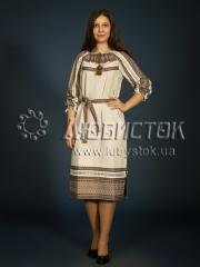 Вышитое модное платье ЖП 75-92