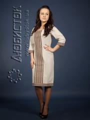 Вышитое модное платье ЖП 76-48