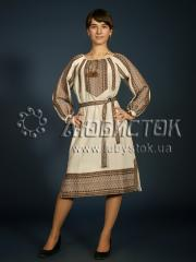 Вышитое модное платье ЖП 77-92