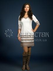 Вышитое модное платье ЖП 78-61