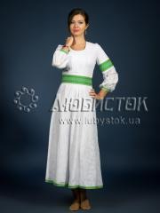 Вышитое модное платье ЖП 79-97