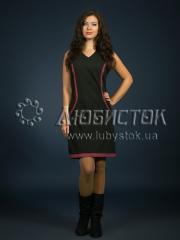 Вышитое модное платье ЖП 80-89