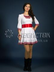 Вышитое модное платье ЖП 81-80