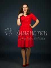 Вышитое модное платье ЖП 84-82