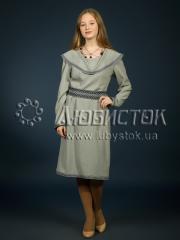 Вышитое модное платье ЖП 85-5