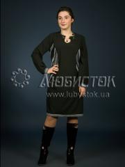 Вышитое модное платье ЖП 87-5