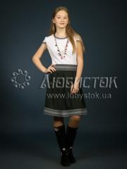 Вышитое модное платье ЖП 88-5