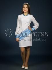 Вышитое модное платье ЖП 91-77