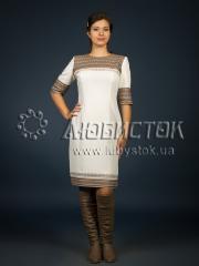Вышитое модное платье ЖП 96-99