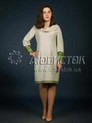 Вышитое модное платье ЖП 97-31