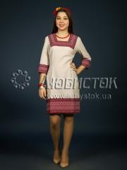 Вышитое модное платье ЖП 98-85