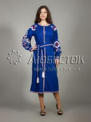 Вышитое платье ЖПВ 10-1