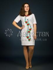Вышитое платье ЖПВ 1-1