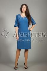 Вышитое платье ЖПВ 12-1