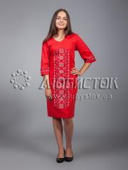 Вышитое платье ЖПВ 15-1