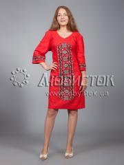 Вышитое платье ЖПВ 15-3